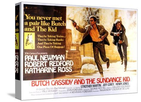 Butch Cassidy and the Sundance Kid - Lobby Card Reproduction--Stretched Canvas Print