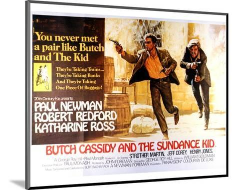 Butch Cassidy and the Sundance Kid - Lobby Card Reproduction--Mounted Art Print