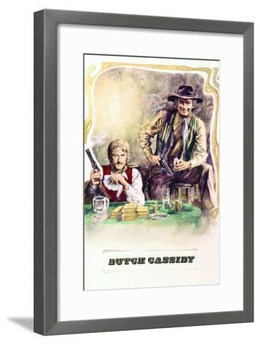 Butch Cassidy and the Sundance Kid - Movie Poster Reproduction--Framed Art Print