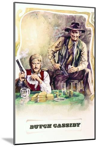 Butch Cassidy and the Sundance Kid - Movie Poster Reproduction--Mounted Art Print