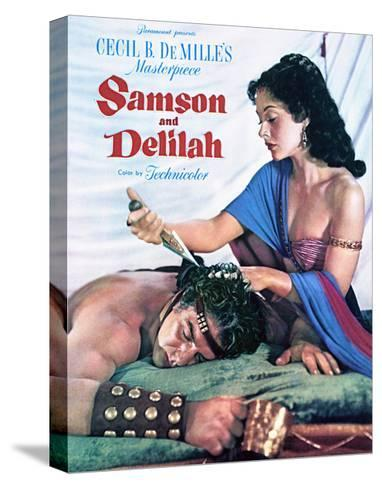 Samson and Delilah - Movie Poster Reproduction--Stretched Canvas Print