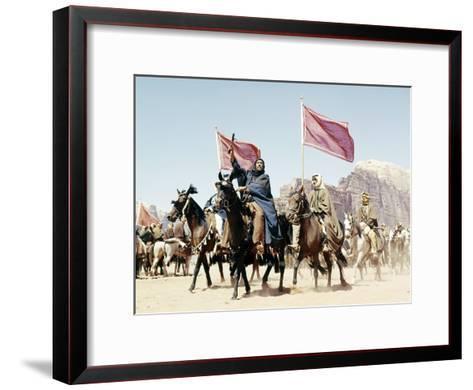 Lawrence of Arabia--Framed Art Print