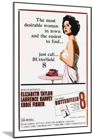 BUtterfield 8 - Movie Poster Reproduction--Mounted Art Print