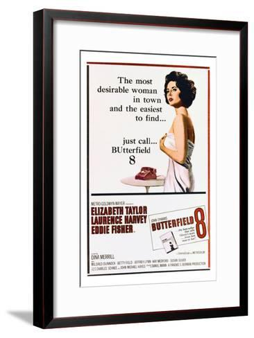 BUtterfield 8 - Movie Poster Reproduction--Framed Art Print