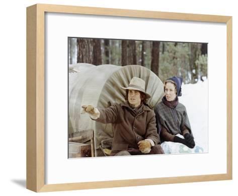 Little House on the Prairie--Framed Art Print