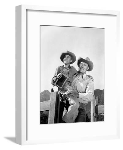 The Rifleman--Framed Art Print