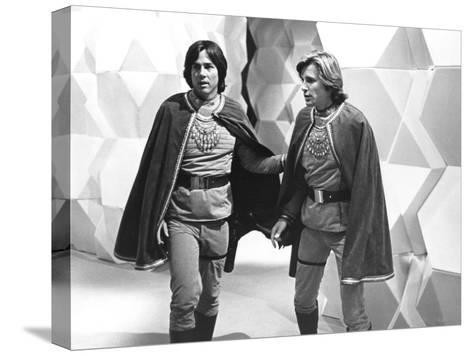Battlestar Galactica--Stretched Canvas Print