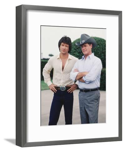 Dallas--Framed Art Print