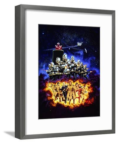 Battlestar Galactica--Framed Art Print