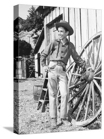 The Rifleman--Stretched Canvas Print