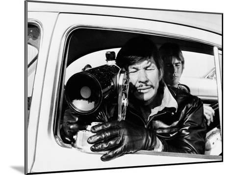 The Mechanic--Mounted Photo