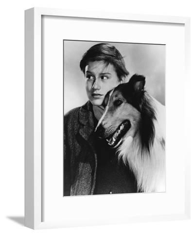 Lassie Come Home--Framed Art Print