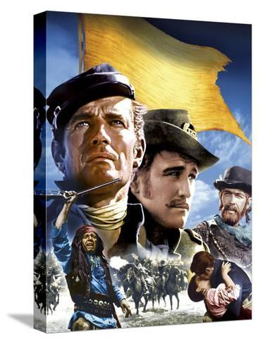 Major Dundee--Stretched Canvas Print