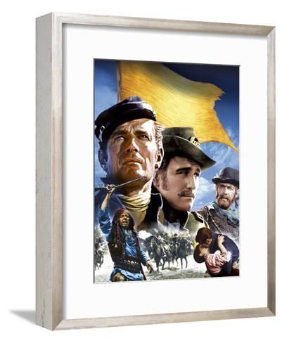 Major Dundee--Framed Art Print