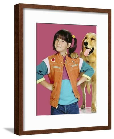 Punky Brewster--Framed Art Print