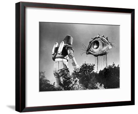 Johnny Sokko and His Flying Robot--Framed Art Print