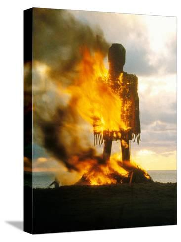 The Wicker Man--Stretched Canvas Print