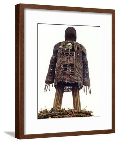 The Wicker Man--Framed Art Print