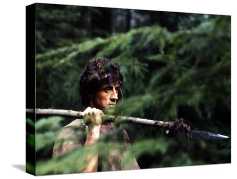 First Blood--Stretched Canvas Print