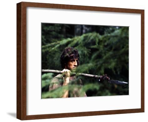 First Blood--Framed Art Print