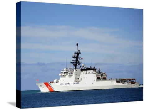 The National Security Cutter Uscgc Waesche--Stretched Canvas Print