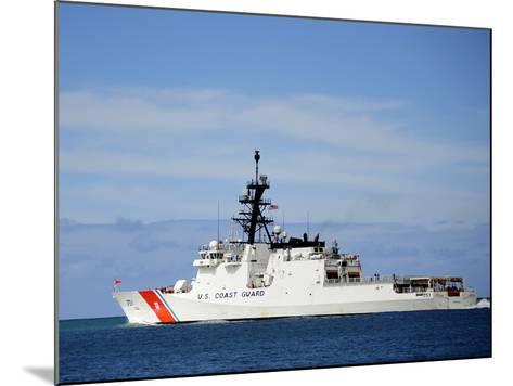 The National Security Cutter Uscgc Waesche--Mounted Photographic Print