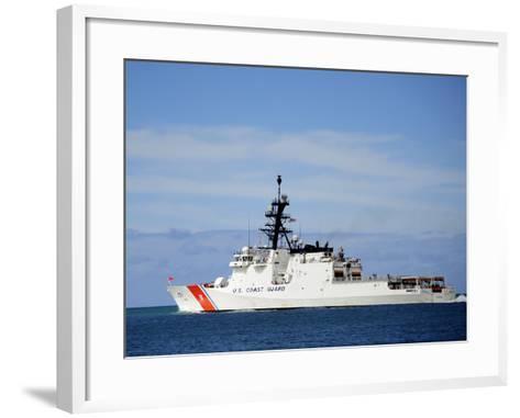 The National Security Cutter Uscgc Waesche--Framed Art Print