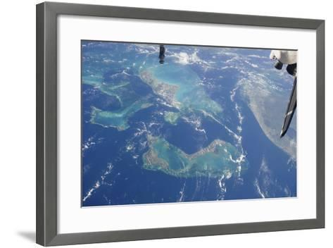 View from Space Featuring the Bahama Islands and Part of Peninsular Florida--Framed Art Print
