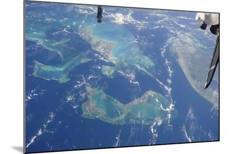 View from Space Featuring the Bahama Islands and Part of Peninsular Florida--Mounted Photographic Print