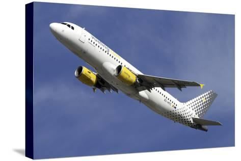 Airbus A320 of Vueling Airlines--Stretched Canvas Print