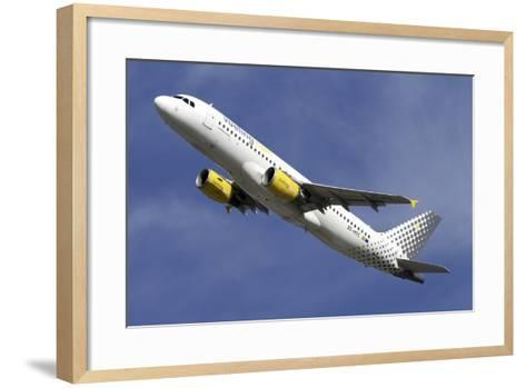 Airbus A320 of Vueling Airlines--Framed Art Print