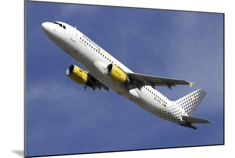 Airbus A320 of Vueling Airlines--Mounted Photographic Print