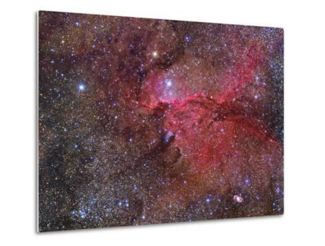 Ngc 6188 Emission Nebula in the Constellation Ara--Metal Print