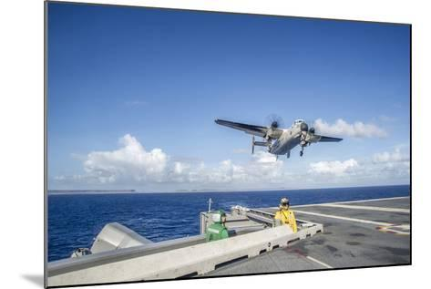 A C-2A Greyhound Carrying Relief Supplies--Mounted Photographic Print
