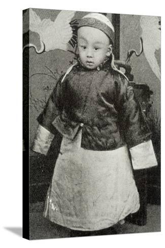 Hsuan-T'Ung, Last Emperor--Stretched Canvas Print