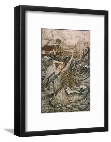 Undine, De La Motte--Framed Art Print