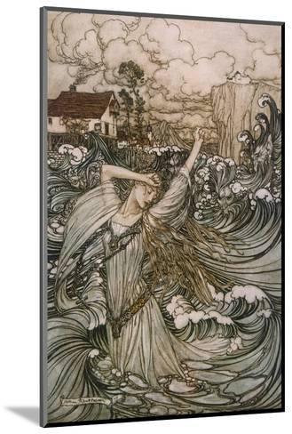 Undine, De La Motte--Mounted Giclee Print