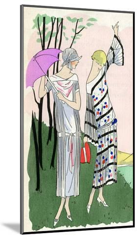 Two Ladies in Outfits by Doucet and Martial Et Armand--Mounted Giclee Print