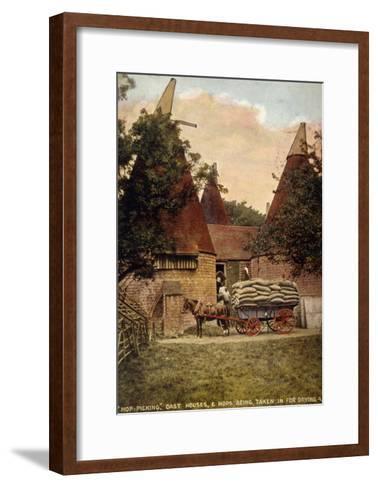 Oast Houses 1908--Framed Art Print