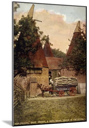 Oast Houses 1908--Mounted Giclee Print