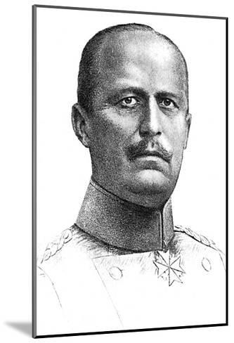 Ludendorff--Mounted Giclee Print