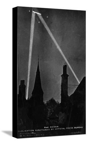 Zeppelin Downed 1916--Stretched Canvas Print