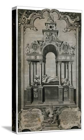 Tomb of Queen Elizabeth I, Westminster Abbey--Stretched Canvas Print