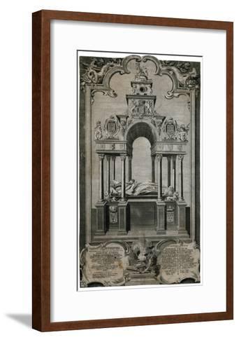 Tomb of Queen Elizabeth I, Westminster Abbey--Framed Art Print