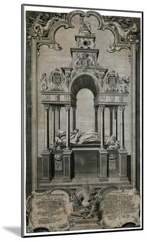 Tomb of Queen Elizabeth I, Westminster Abbey--Mounted Giclee Print