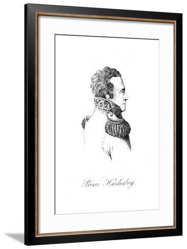 Karl Von Hardenberg--Framed Art Print