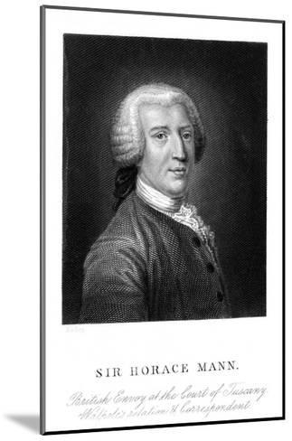 Sir Horace Mann--Mounted Giclee Print