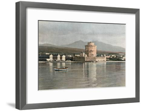 Greece, Thessaloniki 1900--Framed Art Print