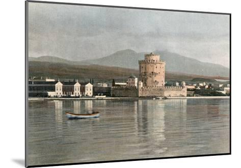 Greece, Thessaloniki 1900--Mounted Giclee Print