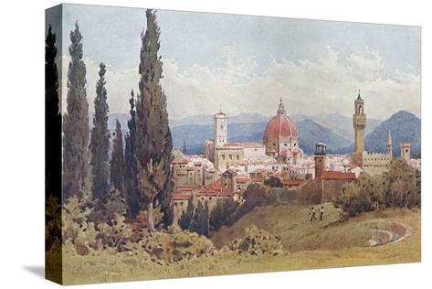 Florence, Distant View--Stretched Canvas Print